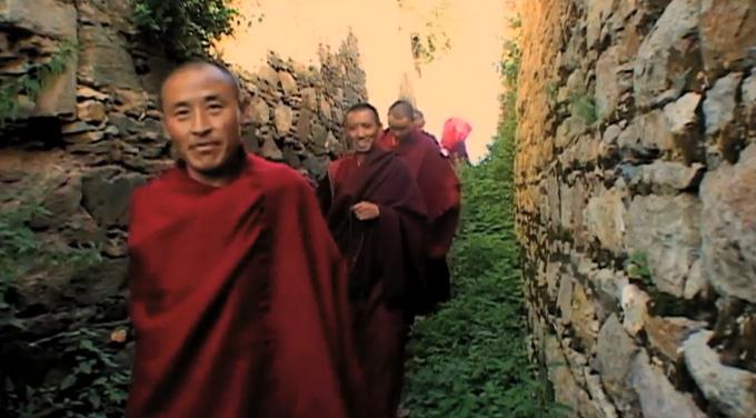 Vajra Sky over Tibet screening at Chester Beatty